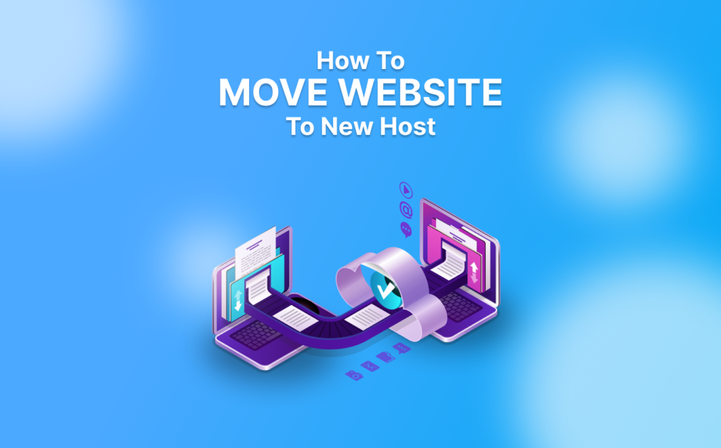move website to new host